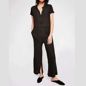 """Free People black """"Stand by jumpsuit"""" S"""